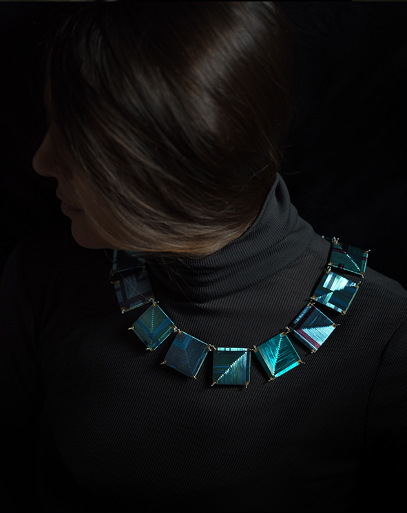 weaving ocean necklace portfolio