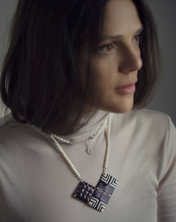 weaving pearl pendant portfolio
